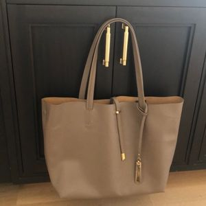 Vince Camuto Leather Tote Removable Interior bag